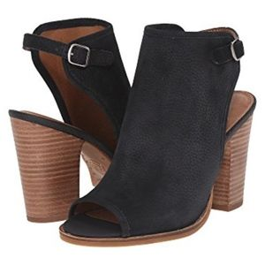 Lucky Brand Lisza open toe ankle bootie